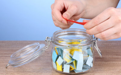 Not Your Ordinary Thank-You Jar: Sharing your faith with your kids and turning a bumpy day around